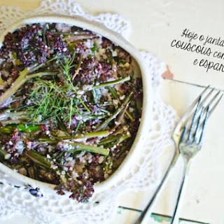 Couscous, Broccoli, and Asparagus Salad.