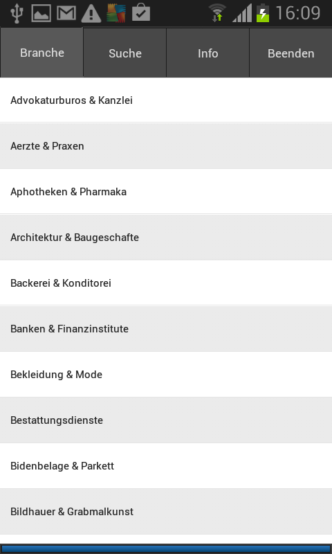Swiss Company Directory- screenshot