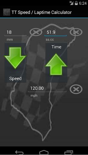 TT Speed Laptime Calculator