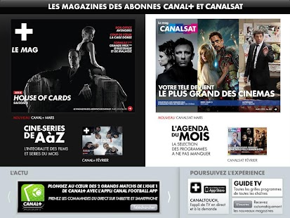 PROGRAMME TV CANAL+ CANALSAT - screenshot thumbnail