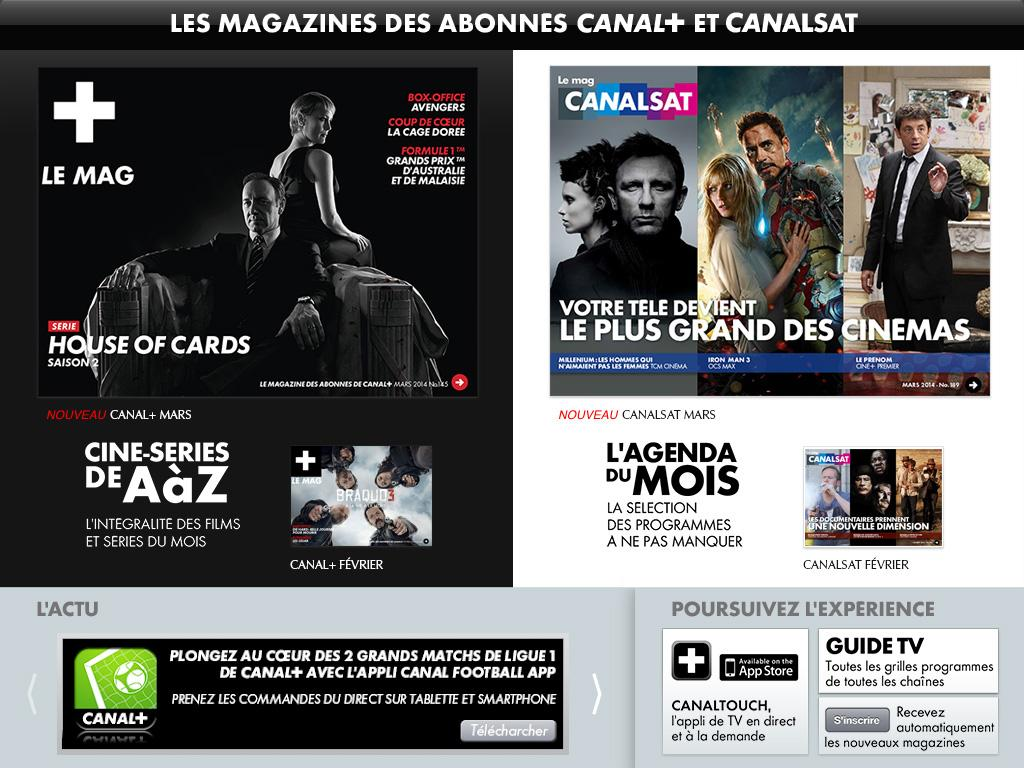 PROGRAMME TV CANAL+ CANALSAT - screenshot