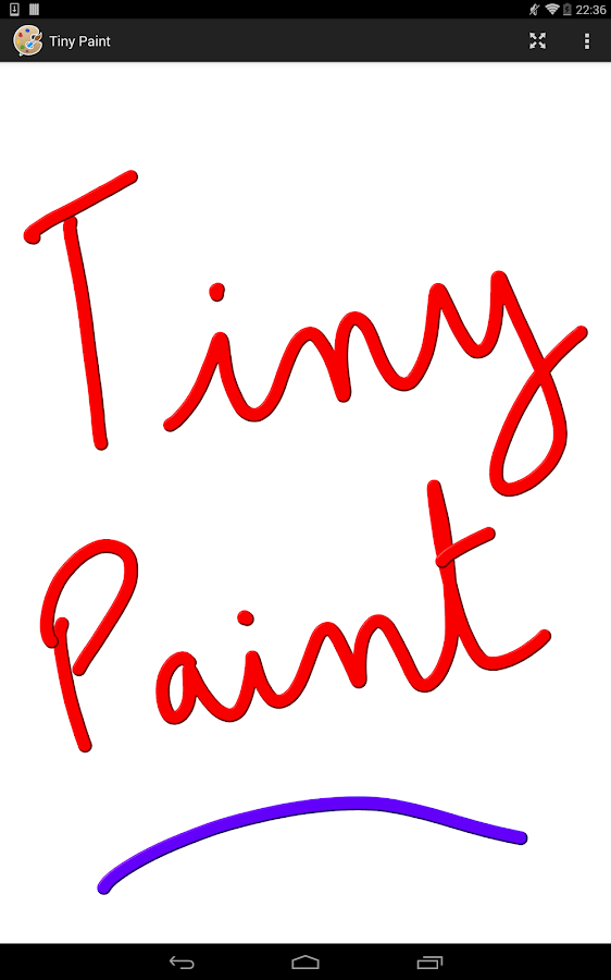 Tiny Paint Pro- screenshot