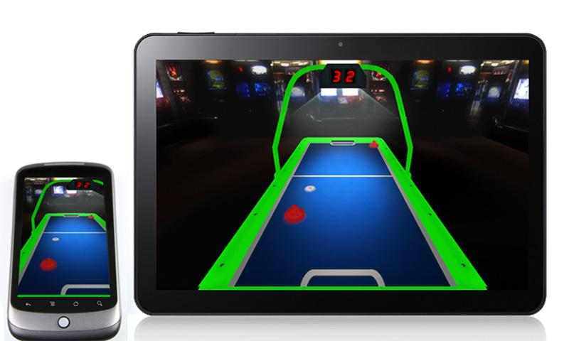 3D Air Hockey (Free)- screenshot