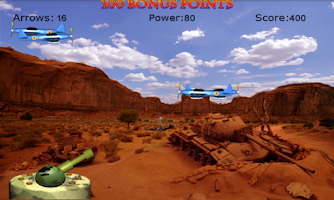 Screenshot of 3D AirPlane Blast