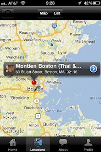 Montien Boston (Thai & Sushi)- screenshot thumbnail