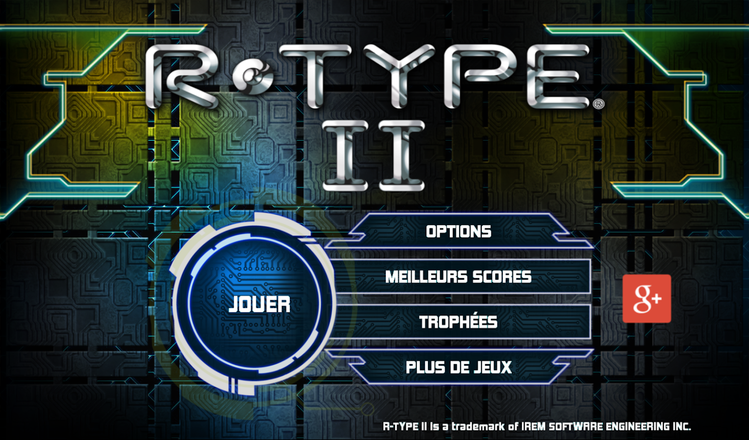R-TYPE II- screenshot