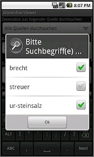 Glutenfrei Viewer - screenshot thumbnail