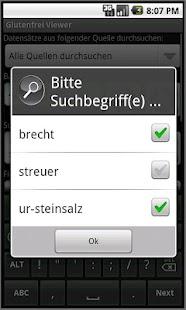 Glutenfrei Viewer- screenshot thumbnail