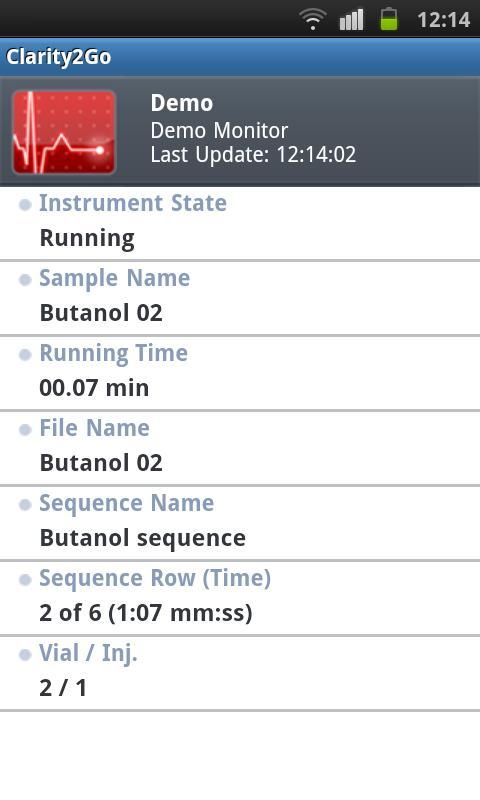 Clarity2Go- screenshot