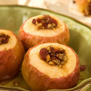 Oven-baked Harvest Apples.