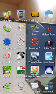 Transparent Screen Launcher- screenshot thumbnail