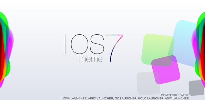 iOs 7 Theme HD Concept  8 in 1