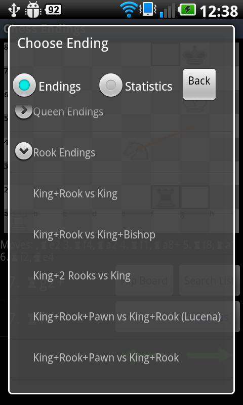 Chess Endings- screenshot