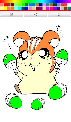 Coloring book Dora : Hamster