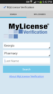 MyLicense Verification- screenshot thumbnail