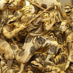 Japan Amazing Art by John Dutton - Artistic Objects Antiques