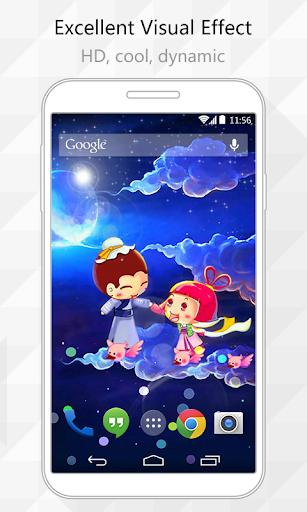 Sky Love Live Wallpaper