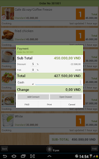 Cafe Ordering System + POS