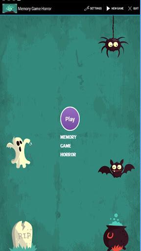 Memory Game Horror
