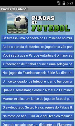 Piadas de Futebol