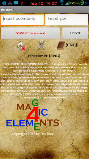 magic 4 elements