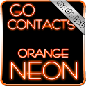 Orange Neon GO contacts theme icon