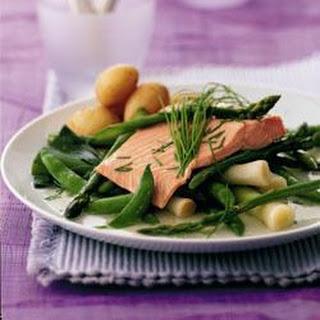 Summer Salmon And Asparagus