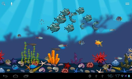 Aquarium Live Wallpaper Free - screenshot thumbnail