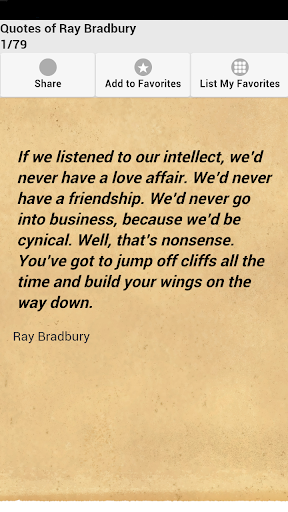 Quotes of Ray Bradbury