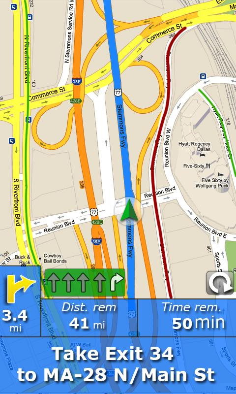 RV Route & GPS Navigation- screenshot