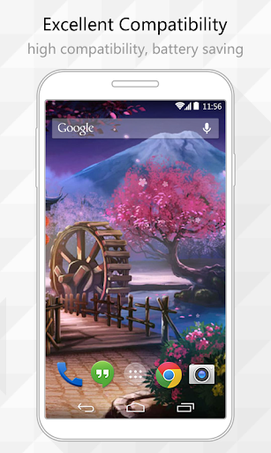 【免費個人化App】Courtyard Park Live Wallpaper-APP點子