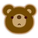KumaTimer (Bear's Face Timer) logo