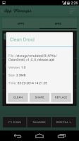 Screenshot of Clean Droid: Deep Cleaner