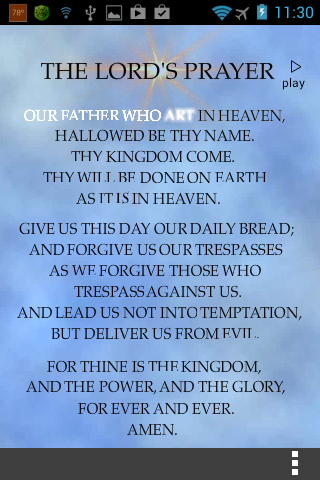 【免費生活App】The Lord's Prayer Anointed-APP點子