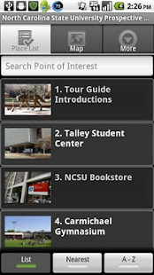 NC State University Tour - screenshot thumbnail