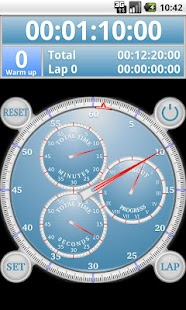 Analog Interval Stopwatch Pro - screenshot thumbnail