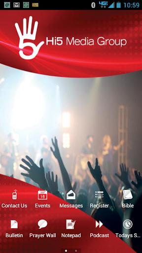 Hi5 Media Group Church App