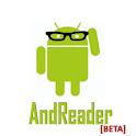 AndReader Beta logo
