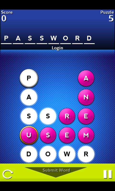 A Game of Words- screenshot