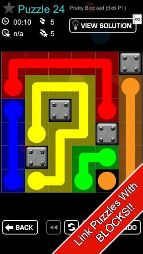 Link Blocked -puzzle game