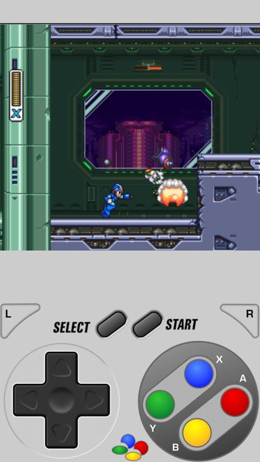 SuperGNES (SNES Emulator) - screenshot