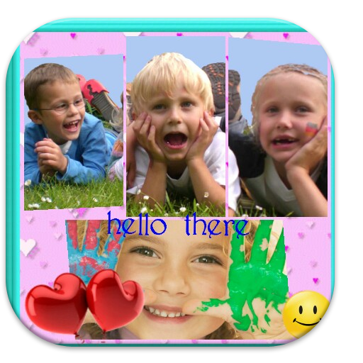 Kids Coollage Collage FRAMES