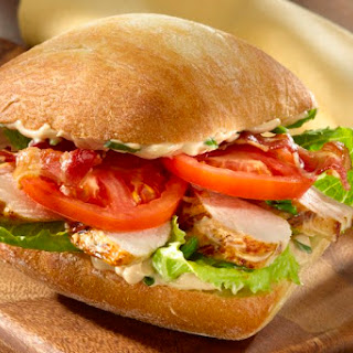 Balsamic Chicken BLT Sandwiches.