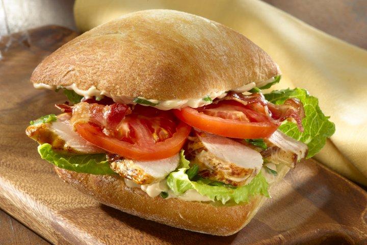 Balsamic Chicken BLT Sandwiches Recipe