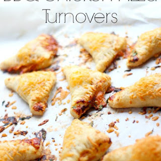 BBQ Chicken Pizza Turnovers.