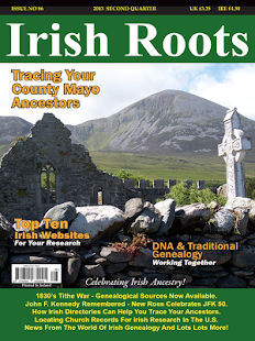 Irish Roots Magazine- screenshot thumbnail