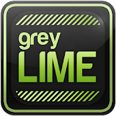 greyLIME HD Launcher Theme