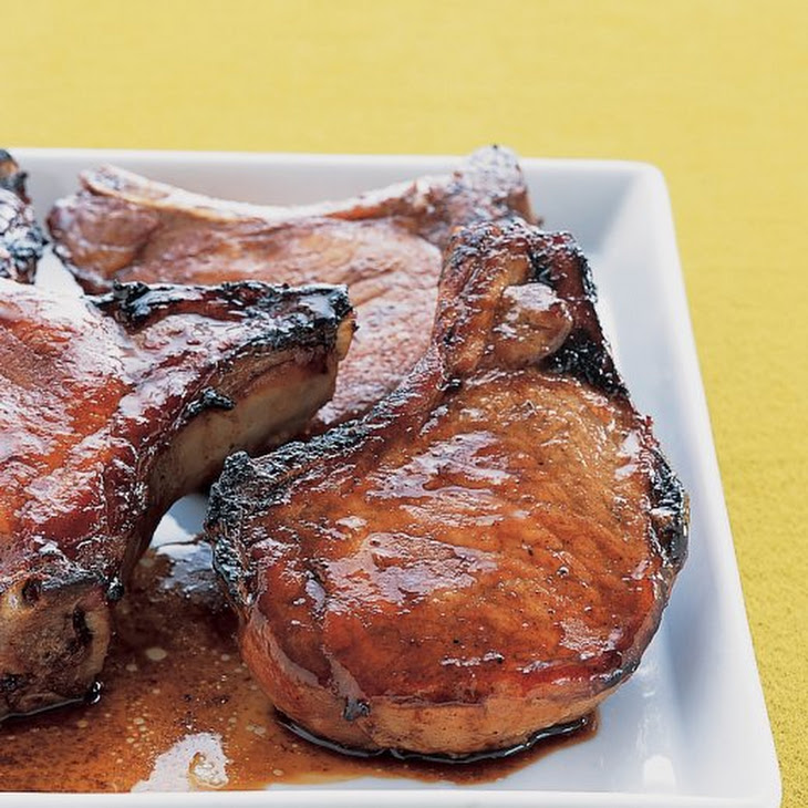 Asian-Style Marinated Pork Chops Recipe