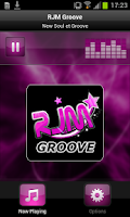 Screenshot of RJM Groove