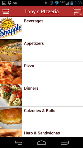 【免費生活App】Tonys Pizzeria-APP點子